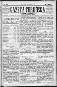 Gazeta Toruńska 1884, R. 18 nr 94