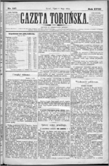 Gazeta Toruńska 1884, R. 18 nr 107