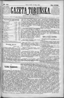 Gazeta Toruńska 1884, R. 18 nr 111
