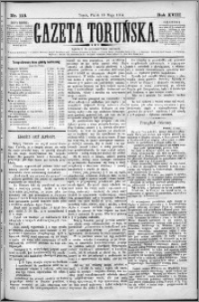 Gazeta Toruńska 1884, R. 18 nr 113