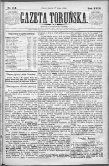 Gazeta Toruńska 1884, R. 18 nr 114