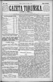 Gazeta Toruńska 1884, R. 18 nr 116