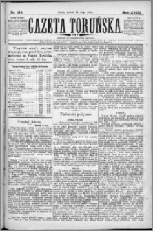 Gazeta Toruńska 1884, R. 18 nr 119