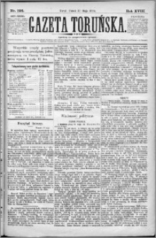 Gazeta Toruńska 1884, R. 18 nr 124