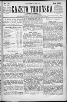 Gazeta Toruńska 1884, R. 18 nr 125