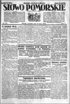 Słowo Pomorskie 1925.07.30 R.5 nr 174