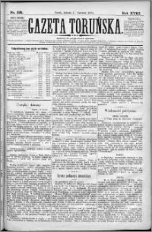 Gazeta Toruńska 1884, R. 18 nr 135