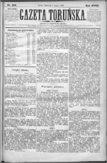 Gazeta Toruńska 1884, R. 18 nr 154