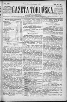 Gazeta Toruńska 1884, R. 18 nr 191