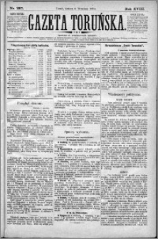Gazeta Toruńska 1884, R. 18 nr 207