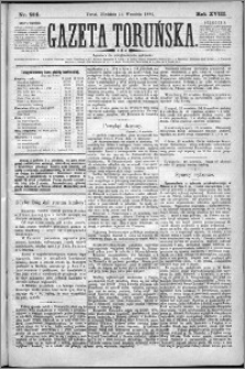 Gazeta Toruńska 1884, R. 18 nr 214