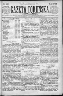 Gazeta Toruńska 1884, R. 18 nr 229