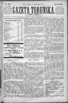 Gazeta Toruńska 1884, R. 18 nr 244
