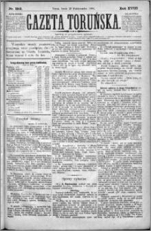 Gazeta Toruńska 1884, R. 18 nr 252