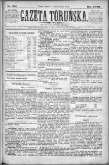 Gazeta Toruńska 1884, R. 18 nr 254