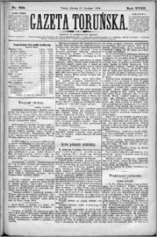 Gazeta Toruńska 1884, R. 18 nr 289