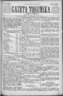 Gazeta Toruńska 1884, R. 18 nr 302