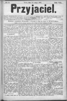 Przyjaciel : pismo dla ludu 1883 nr 8