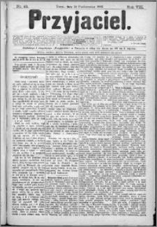 Przyjaciel : pismo dla ludu 1883 nr 43