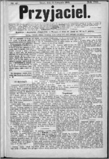Przyjaciel : pismo dla ludu 1883 nr 47