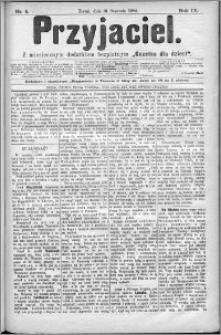 Przyjaciel : pismo dla ludu 1884 nr 5