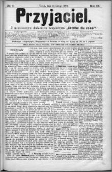 Przyjaciel : pismo dla ludu 1884 nr 7