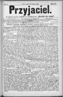Przyjaciel : pismo dla ludu 1884 nr 9