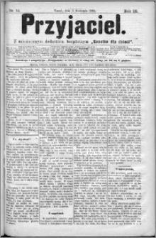 Przyjaciel : pismo dla ludu 1884 nr 14