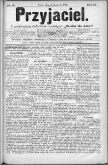 Przyjaciel : pismo dla ludu 1884 nr 15