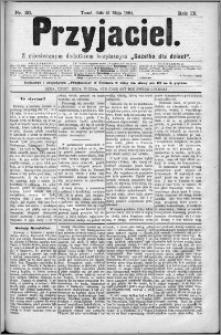 Przyjaciel : pismo dla ludu 1884 nr 20