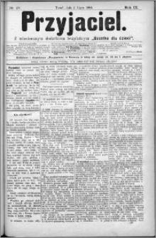 Przyjaciel : pismo dla ludu 1884 nr 27
