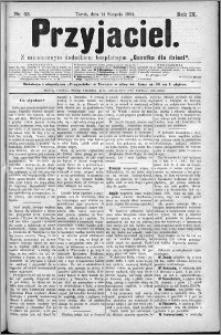 Przyjaciel : pismo dla ludu 1884 nr 33