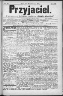 Przyjaciel : pismo dla ludu 1884 nr 41