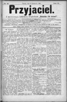 Przyjaciel : pismo dla ludu 1884 nr 45