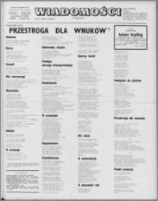 Wiadomości, R. 26 nr 32 (1323), 1971