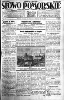 Słowo Pomorskie 1930.02.02 R.10 nr 27