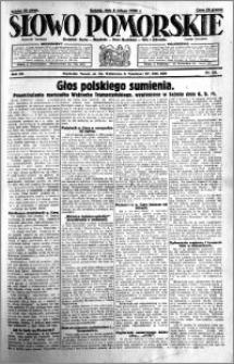 Słowo Pomorskie 1930.02.08 R.10 nr 32