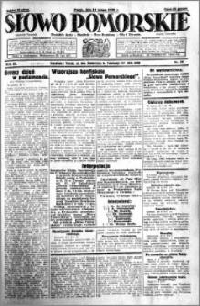 Słowo Pomorskie 1930.02.14 R.10 nr 37