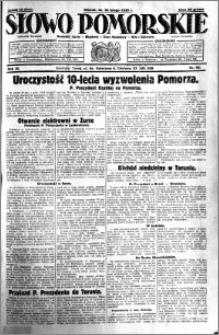 Słowo Pomorskie 1930.02.18 R.10 nr 40