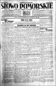 Słowo Pomorskie 1930.02.27 R.10 nr 48