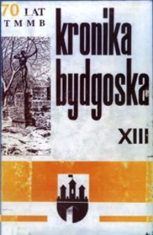 Kronika Bydgoska T. 13 (1991)