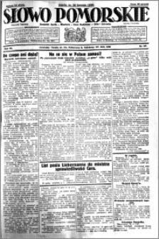 Słowo Pomorskie 1930.04.26 R.10 nr 97