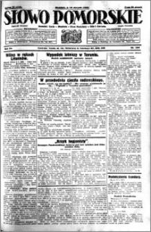 Słowo Pomorskie 1930.08.10 R.10 nr 184
