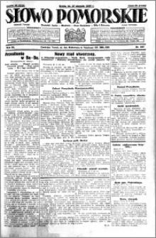 Słowo Pomorskie 1930.08.27 R.10 nr 197