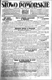 Słowo Pomorskie 1930.09.06 R.10 nr 206