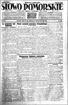 Słowo Pomorskie 1930.09.09 R.10 nr 208