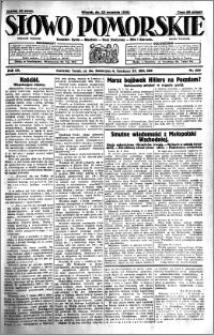 Słowo Pomorskie 1930.09.23 R.10 nr 220