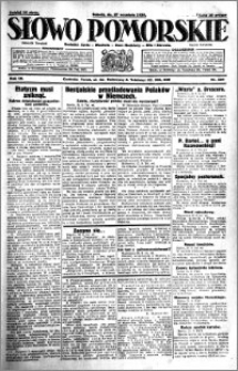 Słowo Pomorskie 1930.09.27 R.10 nr 224