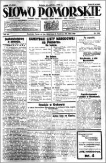 Słowo Pomorskie 1930.10.18 R.10 nr 242