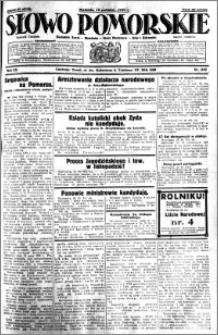 Słowo Pomorskie 1930.10.19 R.10 nr 243